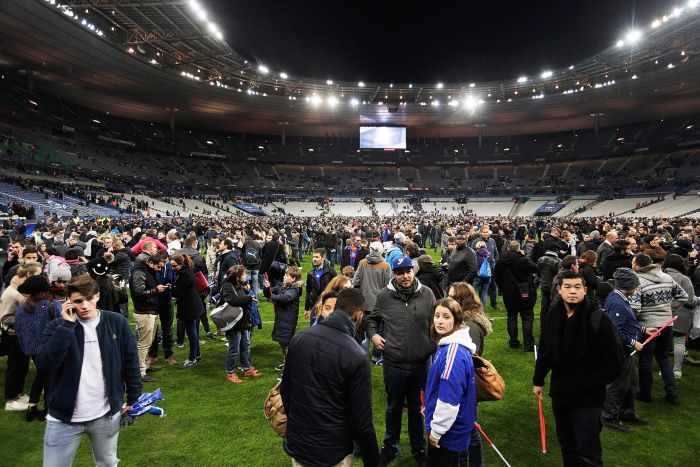 Paris Attacks: Germany Football Team Forced to stay inside Stadium Overnight