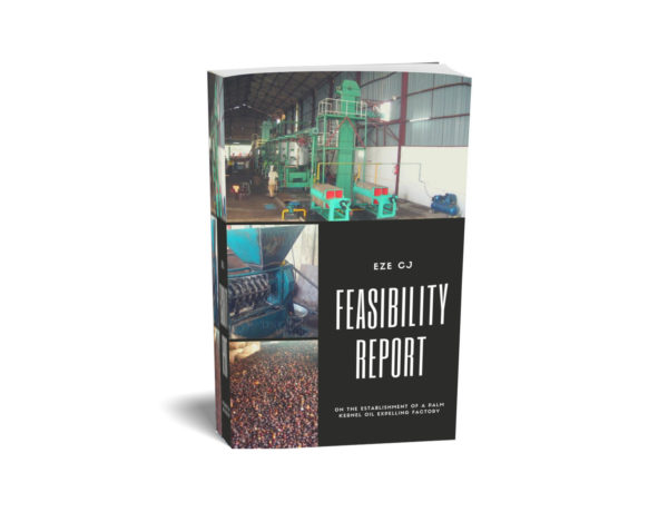 Feasibility Report on Palm Kernel expelling biz cover