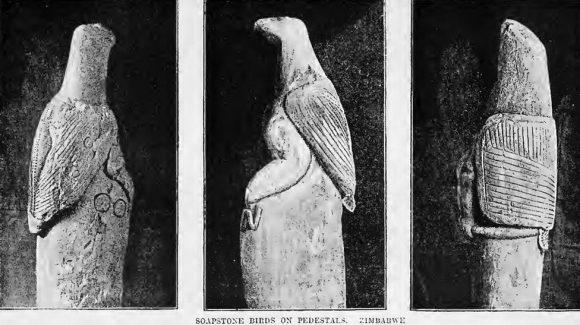 Zimbabwe Soapstone Birds (Artifacts and Treasures Stolen from Africa)