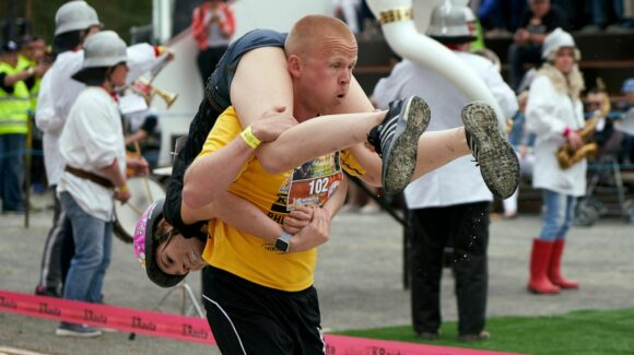 wife carrying sports